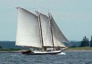 Windjammer cruise out of Portland, Maine